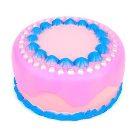 Squishy Tort Różowo niebieski